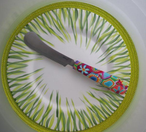 Löffelstil Frühstücksmesser