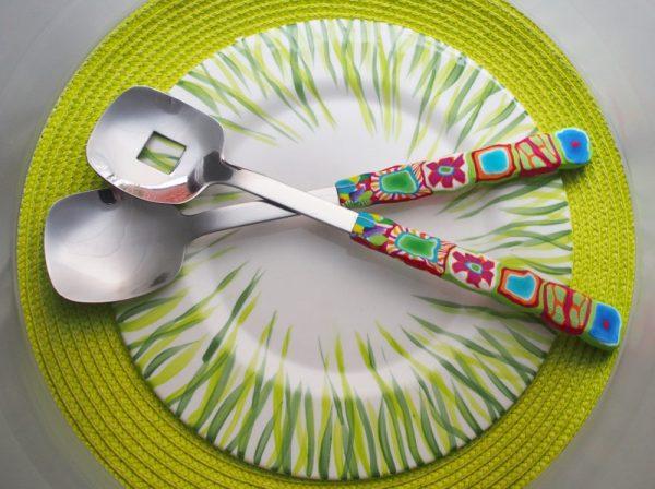 Löffelstil Salatbesteck